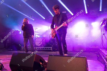 Tim Burgess and Mark Collins - The Charlatans