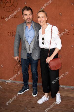 Clovis Cornillac and Lilou Fogli