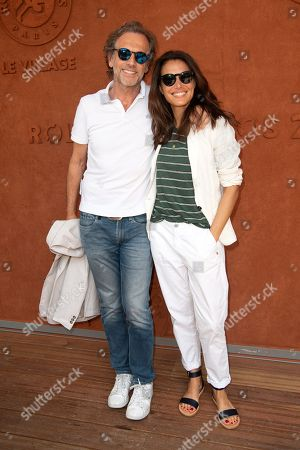 Stephane Freiss and his wife Ursula