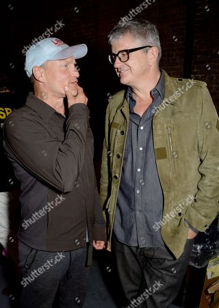 Woody Harrelson and Jay Jopling