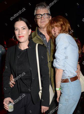 Sarah Morris, Jay Jopling and Kim Sion