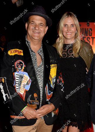 Gerry Fox and Josie Lindop
