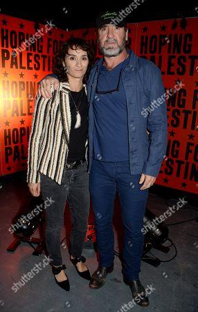 Rachida Brakni and Eric Cantona