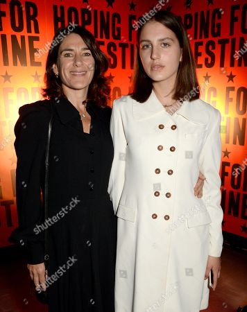 Stock Image of Esther Freud and Anna Morrissey