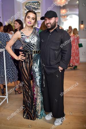Isamaya Ffrench and Michael Halpern