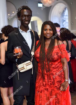 Wilson Oryema and Charlotte Mensah