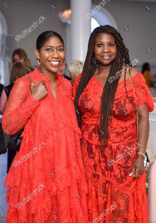 Kenya Hunt and Charlotte Mensah