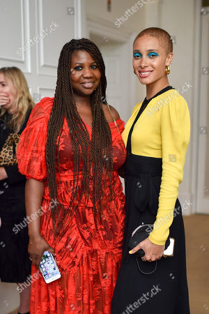 Charlotte Mensah and Adwoa Aboah