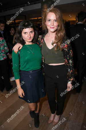 Ruby Bentall and Olivia Hallinan