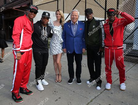 Bell Biv Devoe, Ricki Lander and Robert Kraft