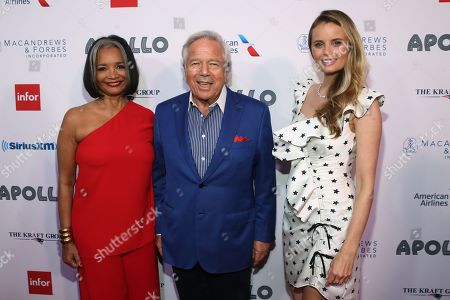 Jonelle Procope, Robert Kraft and Ricki Lander