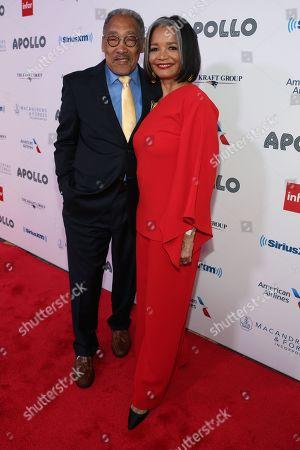 Richard Parsons and Jonelle Procope