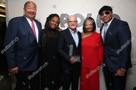 Stock Photo of Richard Parsons, Kamilah Forbes, Scott Greenstein, Jonelle Procope and LL Cool J
