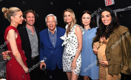 Ricki Lander, Robert Kraft and guests
