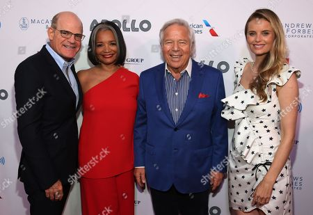 Scott Greenstein, Jonelle Procope, Robert Kraft and Ricki Lander