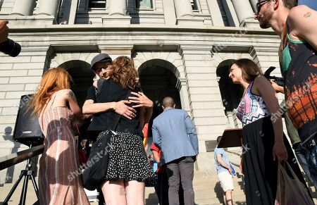 Editorial image of Supreme Court Wedding Cake Case, Denver, USA - 23 Nov 2017