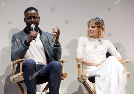 Sterling K Brown And Sofia Boutella