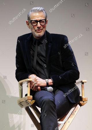 Stock Image Of Jeff Goldblum