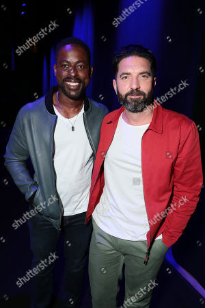 Sterling K. Brown and Director Drew Pearce