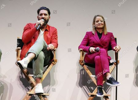 Stock Image of Director Drew Pearce and Jodie Foster