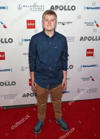 Singer Aidan Doran attends the 13th Annual Apollo Theater Spring Gala, in New York