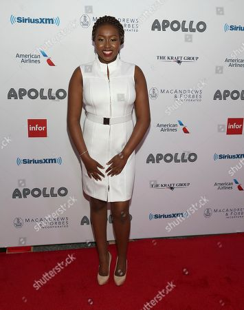 Singers Sarah Ikumu attends the 13th Annual Apollo Theater Spring Gala, in New York