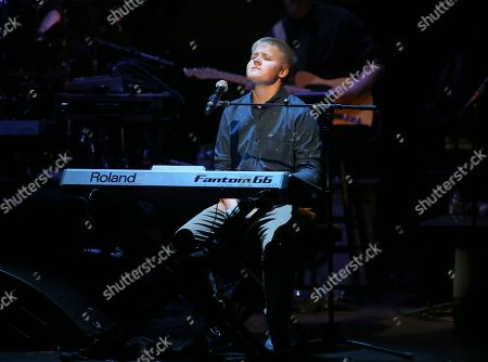 Stock Photo of Singer Aidan Doran performs at the 13th Annual Apollo Theater Spring Gala, in New York