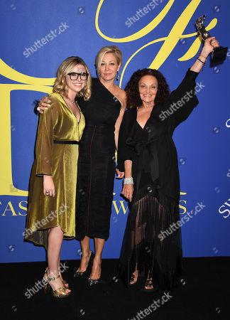 Delaney Tarr, Nadja Swarovski, Diane von Furstenberg