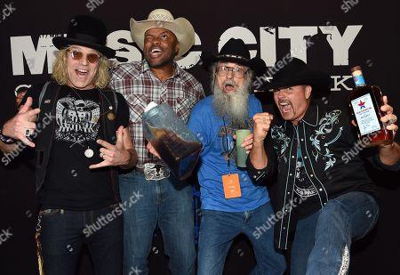 Big Kenny of Big & Rich, Cowboy Troy, Uncle SI of Duck Dynasty, John Rich of Big & Rich