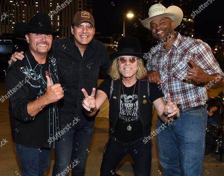 John Rich of Big & Rich, Singer/Songwriter Rodney Atkins, Big Kenny of Big & Rich, Cowboy Troy