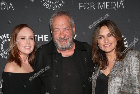 Editorial picture of Creating Great Characters: Dick Wolf & Mariska Hargitay, Arrivals, Los Angeles, USA - 04 Jun 2018