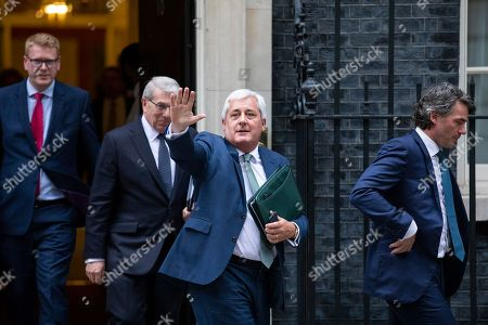 Editorial image of Business leaders meeting on Brexit, Downing Street, London, UK - 04 Jun 2018