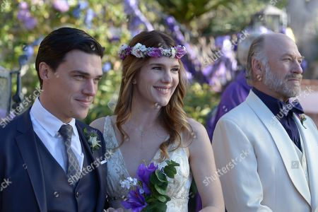 Stock Image of Finn Wittrock, Lily Rabe, Ted Levine