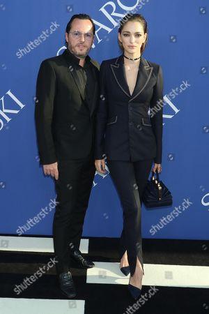 Alexandre de Betak and Sofia Sanchez Barrenechea