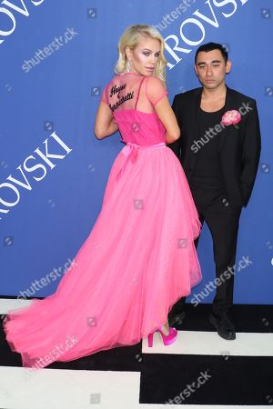 Editorial picture of CFDA Fashion Awards, Arrivals, New York, USA - 04 Jun 2018