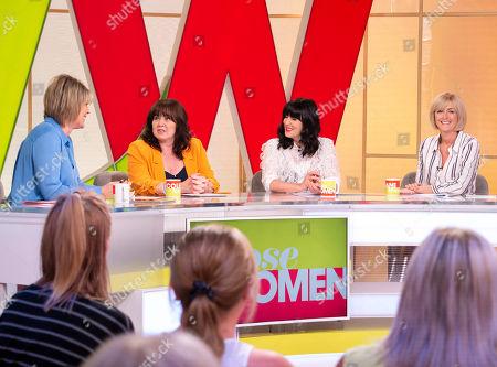 Ruth Langsford, Coleen Nolan, Anna Richardson and Jane Moore