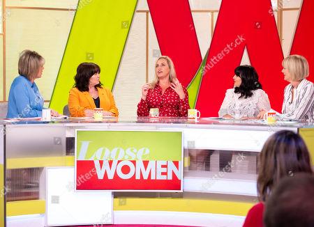 Ruth Langsford, Coleen Nolan, Josie Gibson, Anna Richardson and Jane Moore