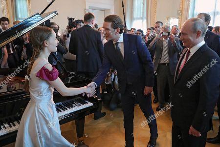 Editorial photo of Russian President Putin visits Austria, Vienna - 05 Jun 2018