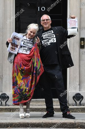 Stock Image of Vivienne Westwood and Joe Corre