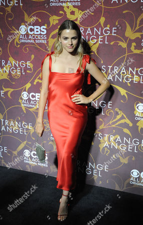 Editorial photo of 'Strange Angel' TV show premiere, Arrivals, Los Angeles, USA - 04 Jun 2018