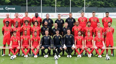 Editorial picture of Soccer National Team, Tubize, Belgium - 05 Jun 2018
