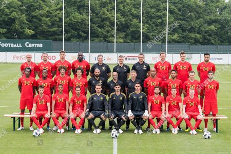 Editorial image of Belgium National soccer team official picture, Tubize - 05 Jun 2018