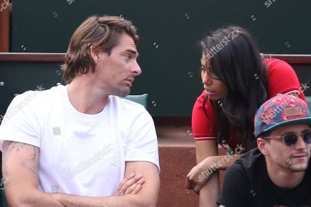 Camille Lacourt and Hajiba Fahmy