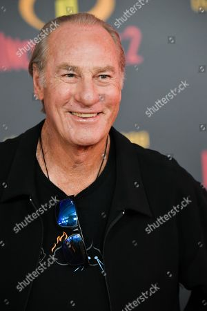 Editorial image of 'Incredibles 2' film premiere, Arrivals, Los Angeles, USA - 05 Jun 2018