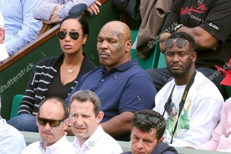 Mike Tyson with his wife Kiki Spicer