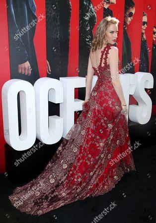 Editorial image of 'Ocean's 8' film premiere, Arrivals, New York, USA - 05 Jun 2018