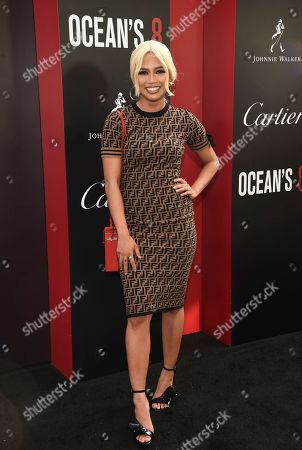 """Amy Pham attends the world premiere of """"Ocean's 8"""" at Alice Tully Hall, in New York"""