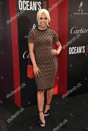 """Stock Photo of Amy Pham attends the world premiere of """"Ocean's 8"""" at Alice Tully Hall, in New York"""