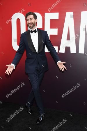 """Scott Rogowsky attends the world premiere of """"Ocean's 8"""" at Alice Tully Hall, in New York"""