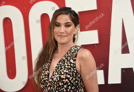 """Screenwriter Olivia Milch attends the world premiere of """"Ocean's 8"""" at Alice Tully Hall, in New York"""